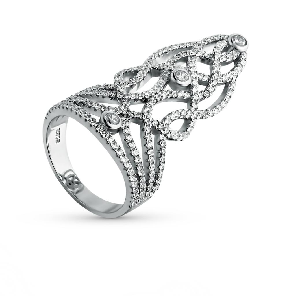 Фото «золотое кольцо с бриллиантами, гранатами и фианитами»