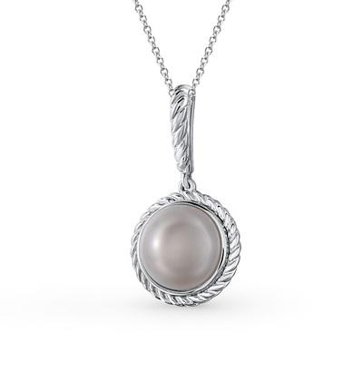 Фото «серебряная подвеска с жемчугом»