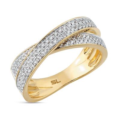 Фото «золотое кольцо с бриллиантами, аметистами и родолитами»