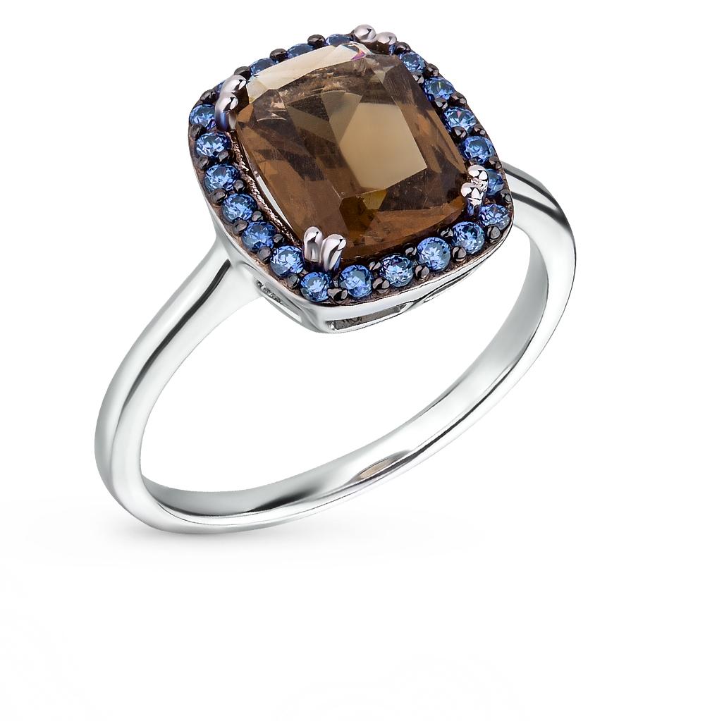 Фото «серебряное кольцо с кварцами»